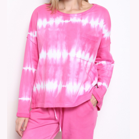 SOMETHING SPECIAL TIE-DYE LOUNGE SET (Available in 2 Colors!)