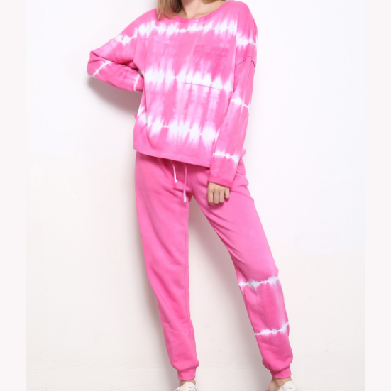SOMETHING SPECIAL TIE-DYE SWEATPANTS SET (Available in 2 Colors!)
