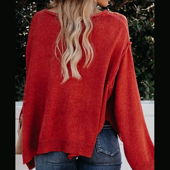 Holiday Season Slouchy Sweater (Available in 2 Colors)