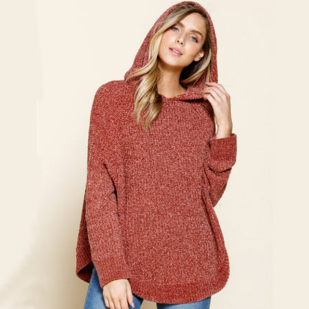 Gettin' Cozy Soft Sweater Hoodie