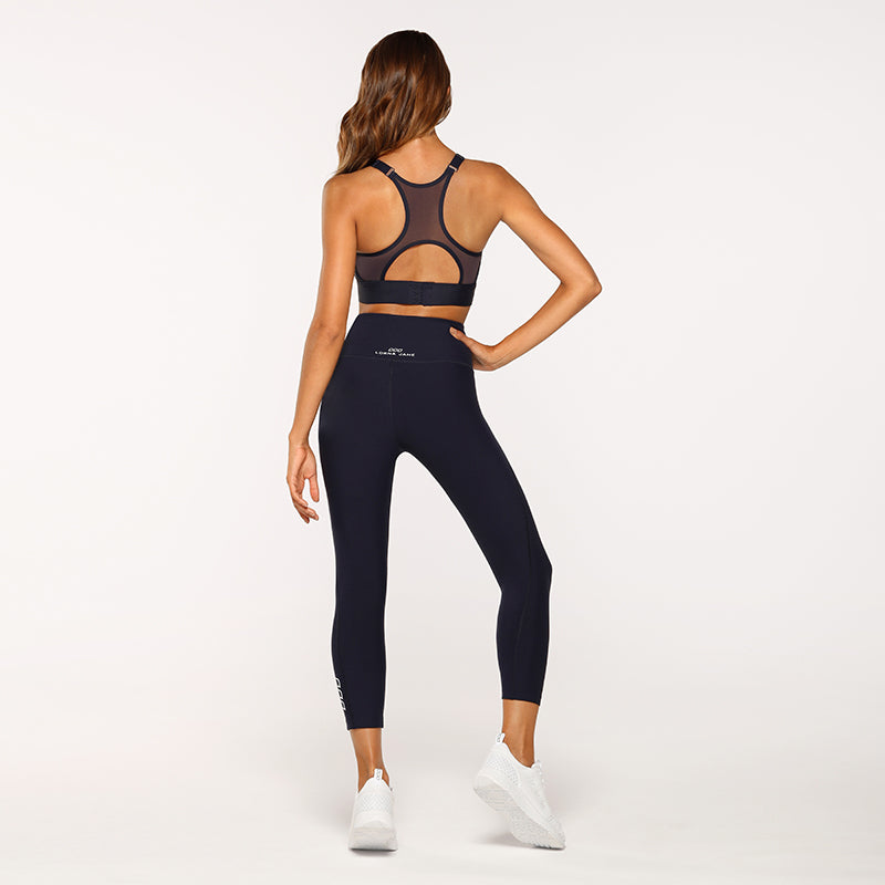 Lorna Jane 7/8 Core Leggings - Navy - SKULPT Dublin