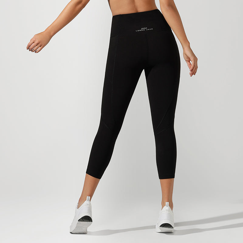 Lorna Jane - Zip Core 7/8 Leggings - Black - SKULPT Dublin