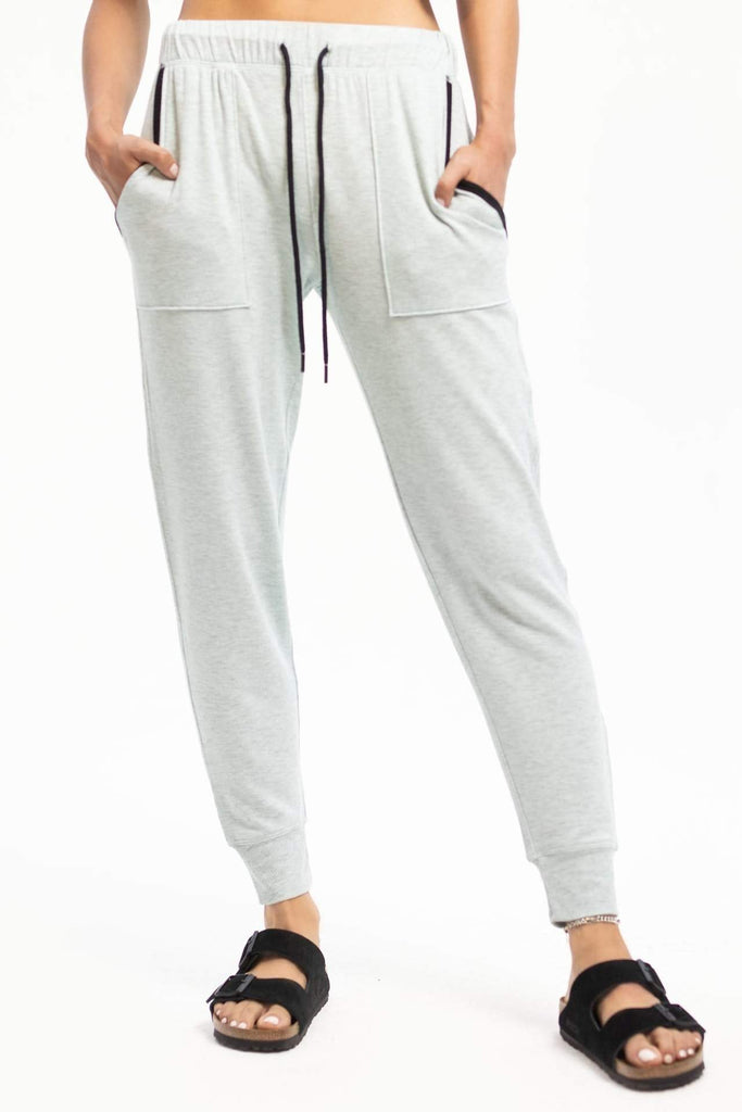 Splits59 Fleece Jogger - Light Grey - SKULPT Dublin