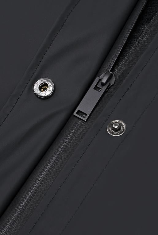 Rains - Belt Jacket - Black - SKULPT Dublin