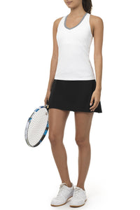 Monreal London Tennis Skirt - Black