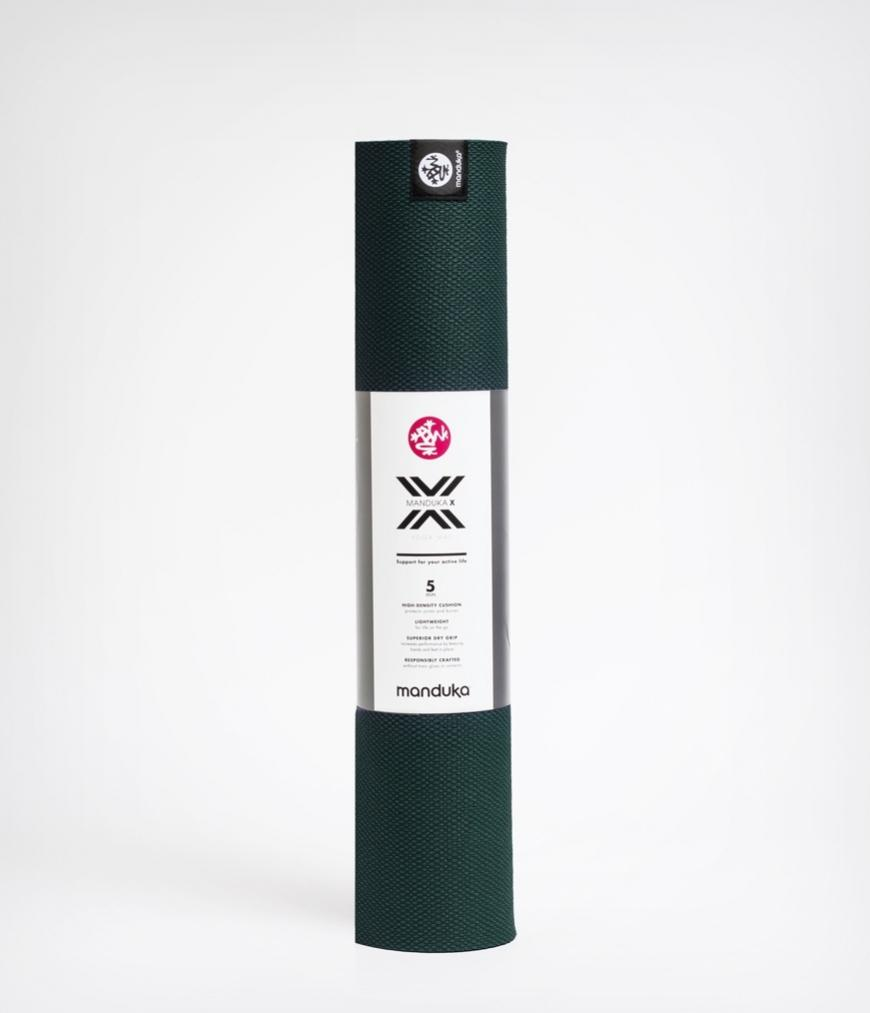 Manduka X Cross Workout Mat - Green - SKULPT Dublin