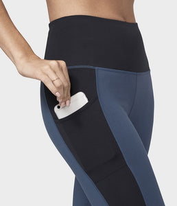 Manduka Pocket Leggings - Indigo