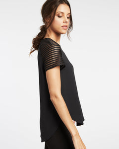 Michi Descent Top - Black