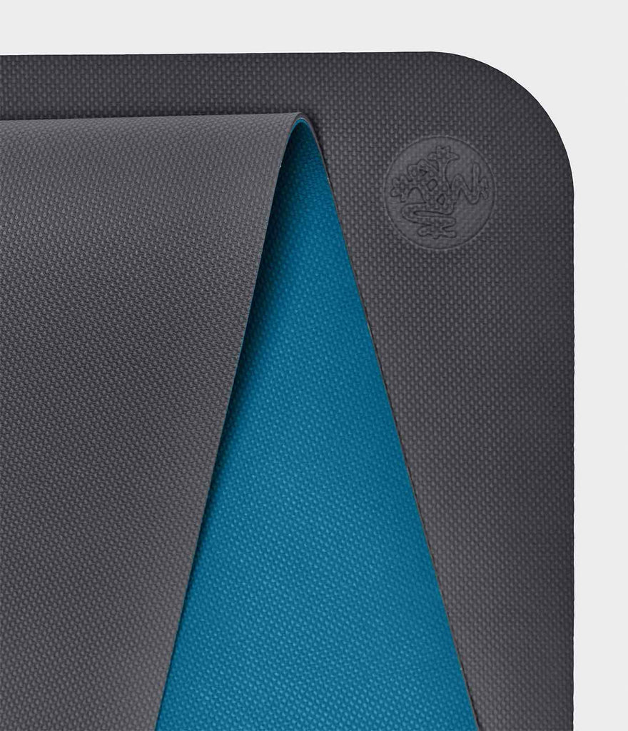 Manduka - The Begin Yoga Mat - Grey/Blue - SKULPT Dublin