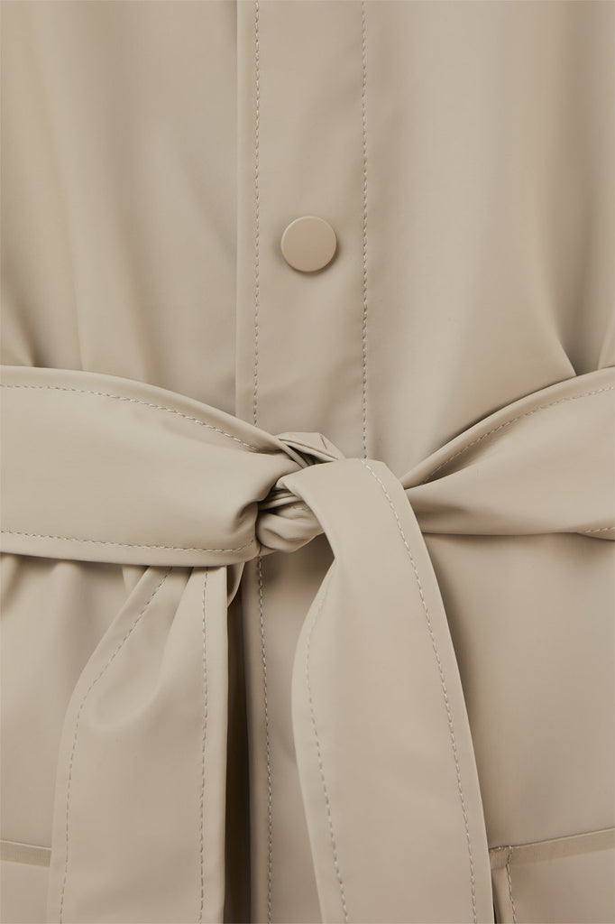 Rains - Belt Jacket - Beige - SKULPT Dublin
