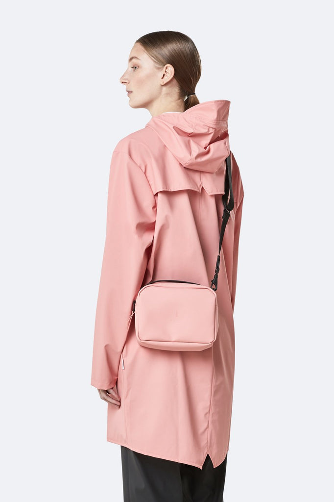 Rains Mini Box Bag - Coral - SKULPT Dublin