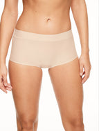 Chantelle Seamless Underwear Soft Stretch - Boxer Short Nude
