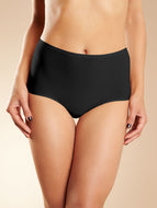 Chantelle Seamless Underwear Soft Stretch - Full Brief Black