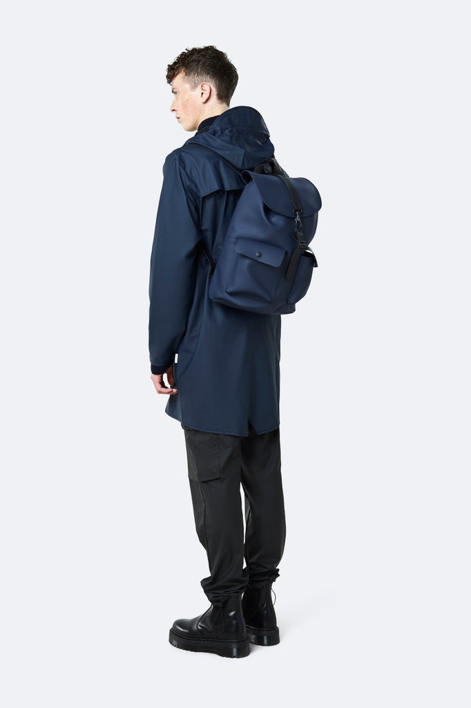 Rains Waterproof Camp Backpack - Navy *New Style - SKULPT Dublin