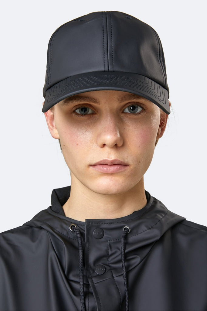 Rains Waterproof Baseball Cap - Black - SKULPT Dublin
