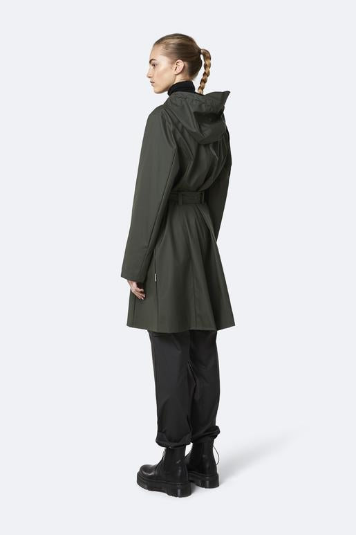 Rains Belt Jacket - Green - SKULPT Dublin
