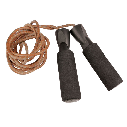 Weighted Skipping Rope - Leather - SKULPT Dublin