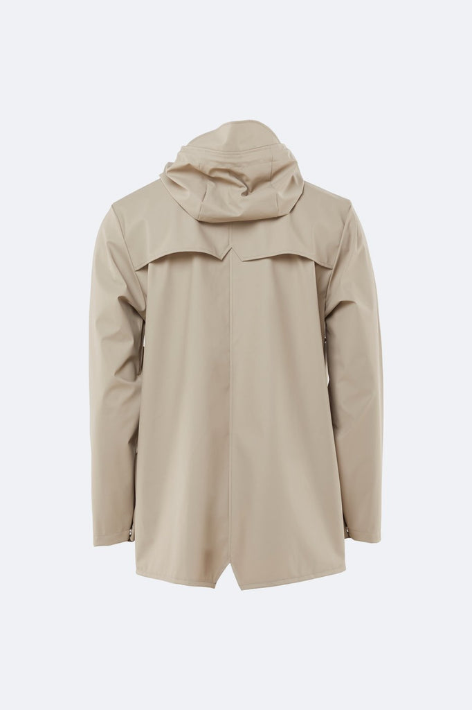 Rains Waterproof Jacket - Beige - SKULPT Dublin