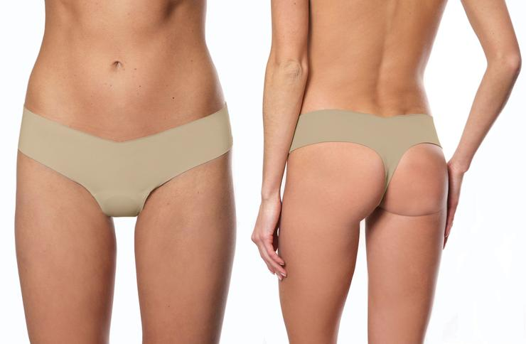 Seamless Thread - Camel No Thong - The Jackie - Thong - SKULPT Dublin