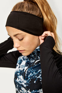 Stretch Fleece HeadBand - Black