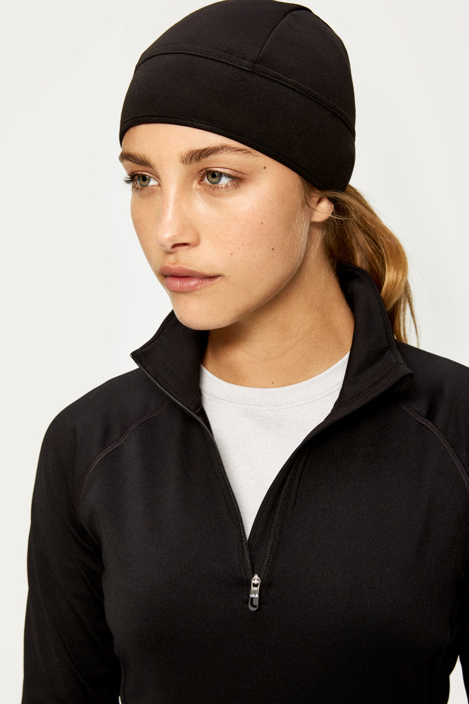 Lole Fleece Hat Beanie - Black - SKULPT Dublin