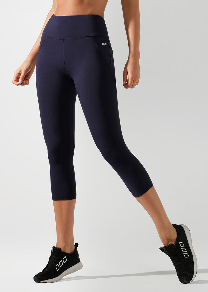 Lorna Jane - New Amy 7/8 Capri High Rise Legging - Black - SKULPT Dublin