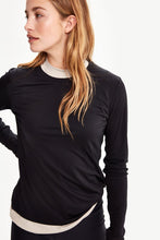 Lole Round Neck Long Sleeved Tee - Black