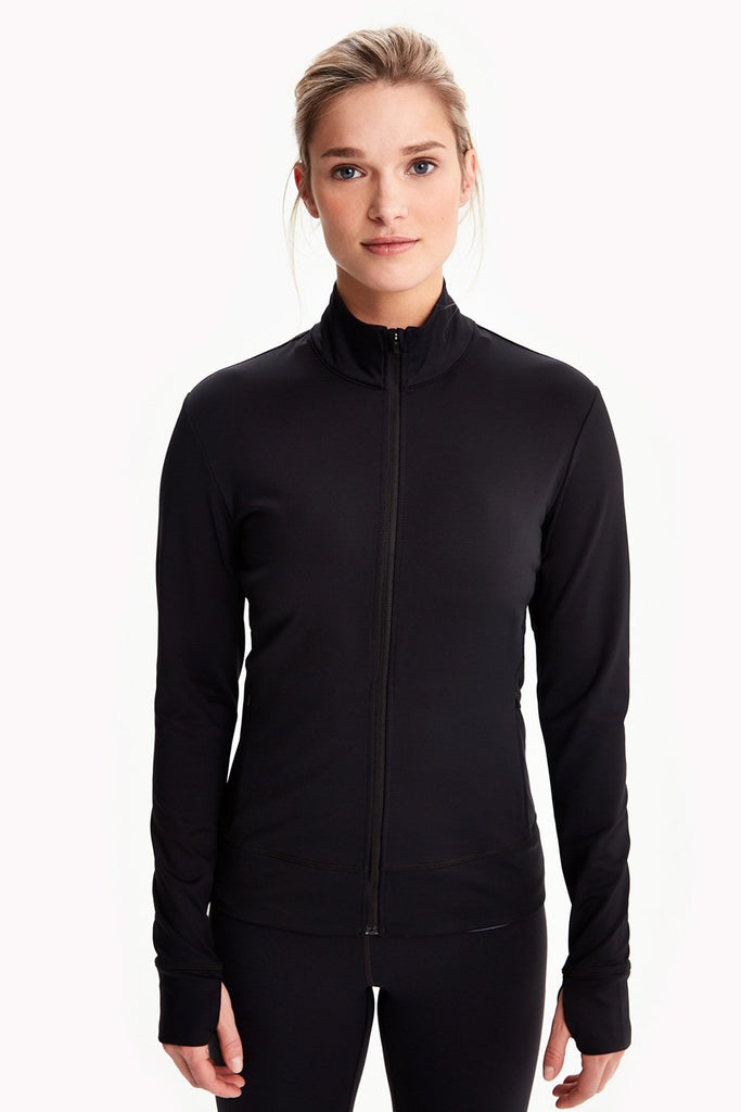 Lole Essential Jacket Zip Up - Black - SKULPT Dublin