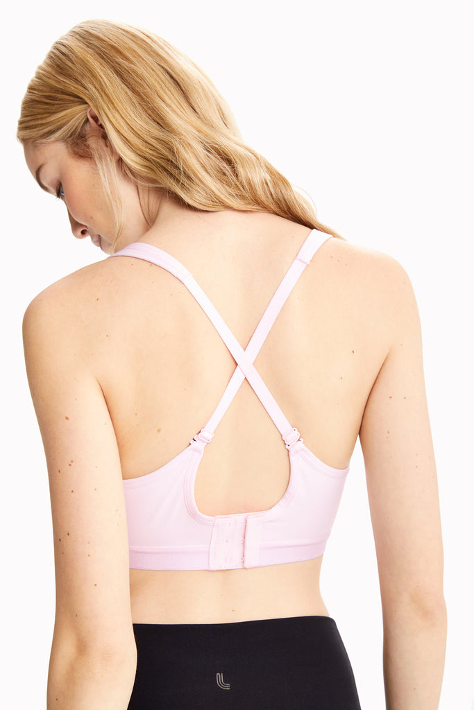 Lole High Impact Sports Bra - Moulded Cup - Pink - SKULPT Dublin