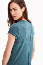 Lole Short Sleeved V Neck Top - Turquoise