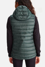 Lole Packable Sleeveless Jacket - Green with Navy Lining