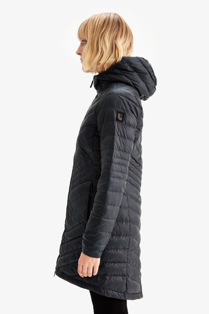 Lole Packable Sleeveless Jacket - Black - SKULPT Dublin