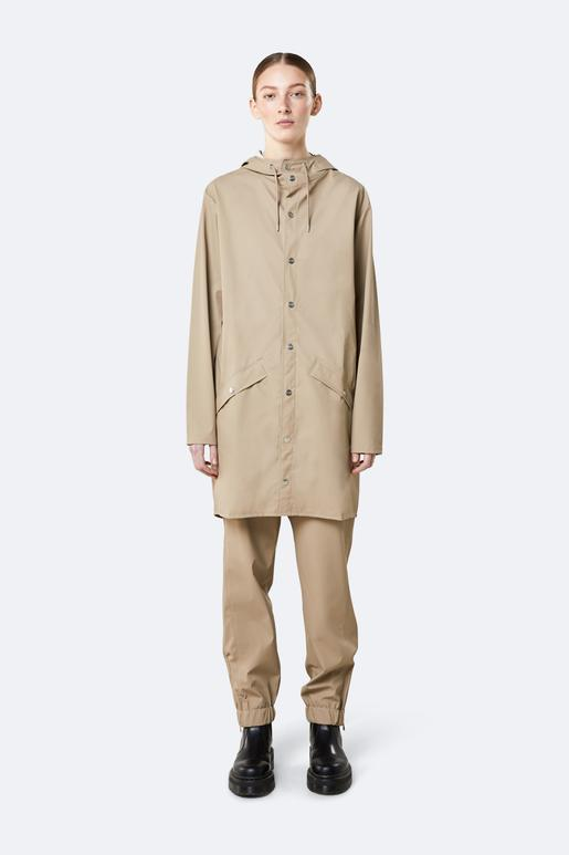 Rains - Waterproof Long Jacket - Beige - SKULPT Dublin