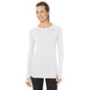 Shape Core Long Sleeve Tee - White
