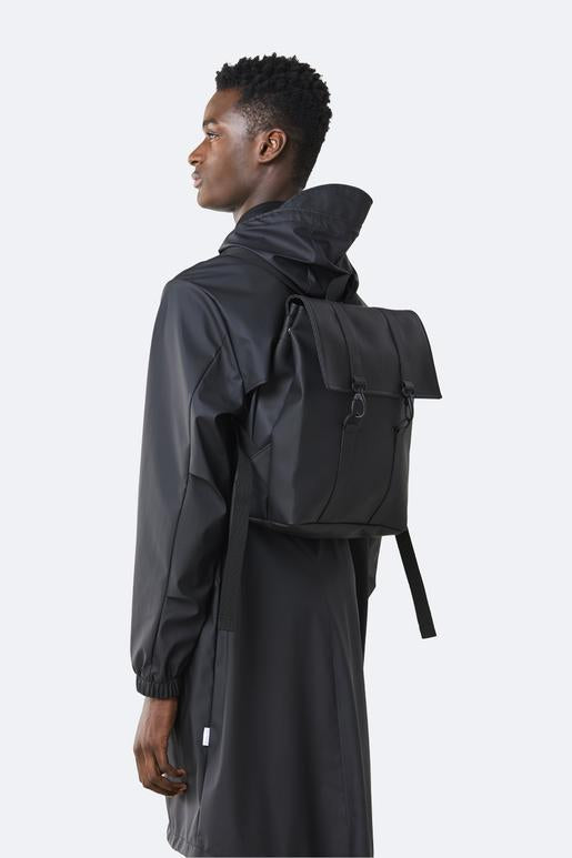 Rains - Mini MSN Backpack - Black - SKULPT Dublin
