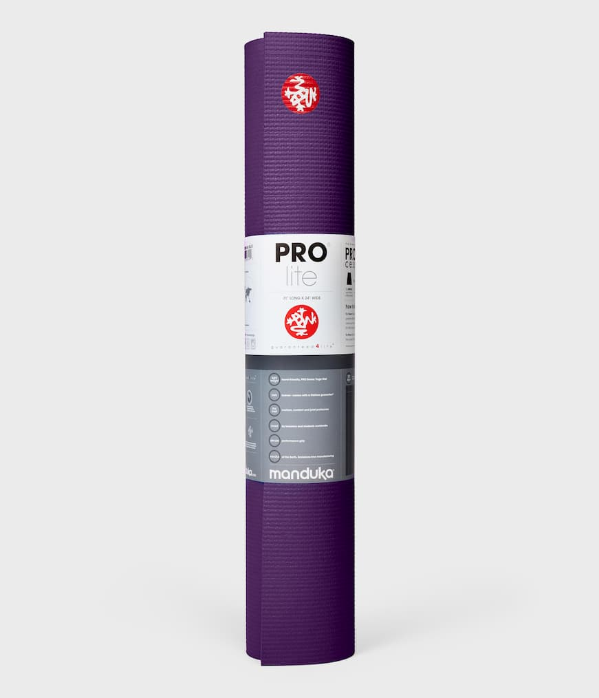 Manduka The Pro Lite Yoga Mat - Purple - SKULPT Dublin