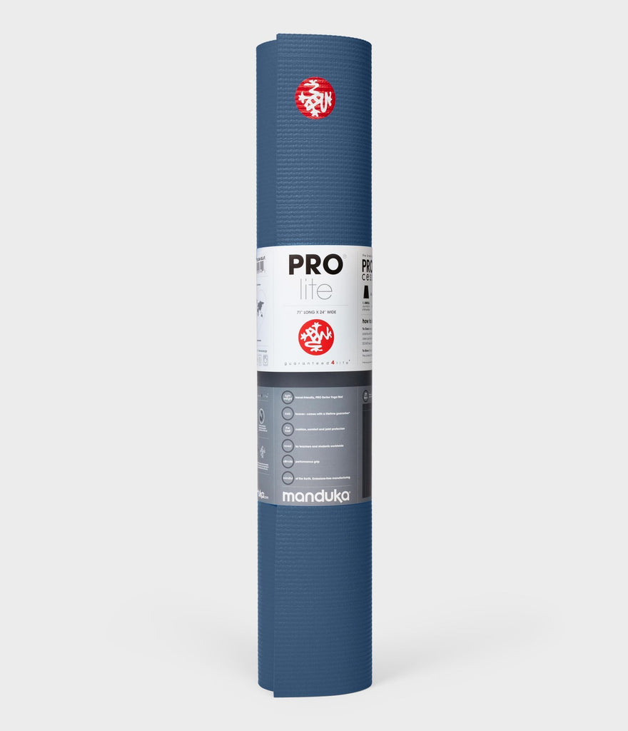 Manduka The Pro Lite Yoga Mat - Denim Blue - SKULPT Dublin