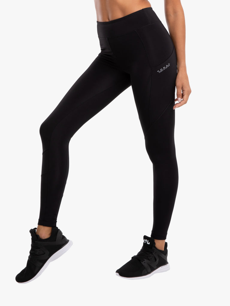 Koral Blackout Pista Pocket Legging - Black - SKULPT Dublin