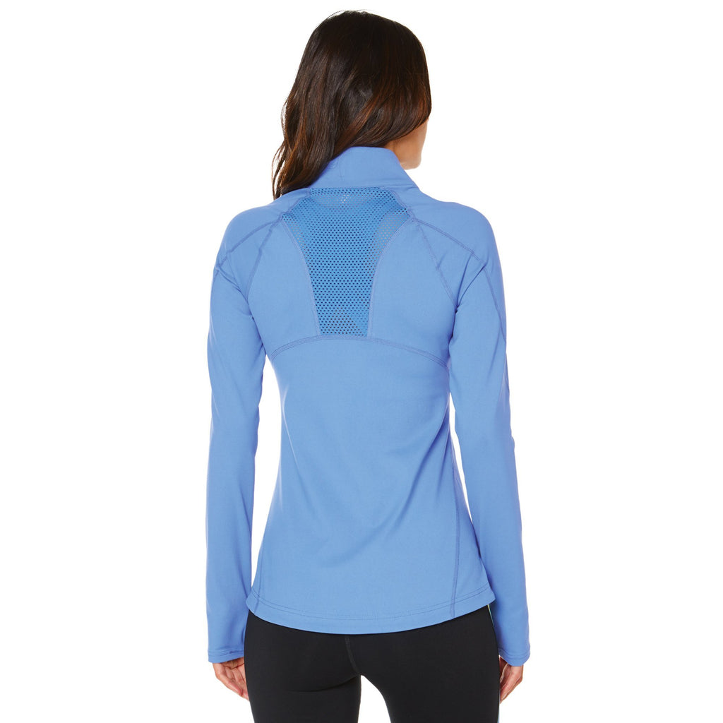 Shape Classic Zip Up Jacket - Blue - SKULPT Dublin