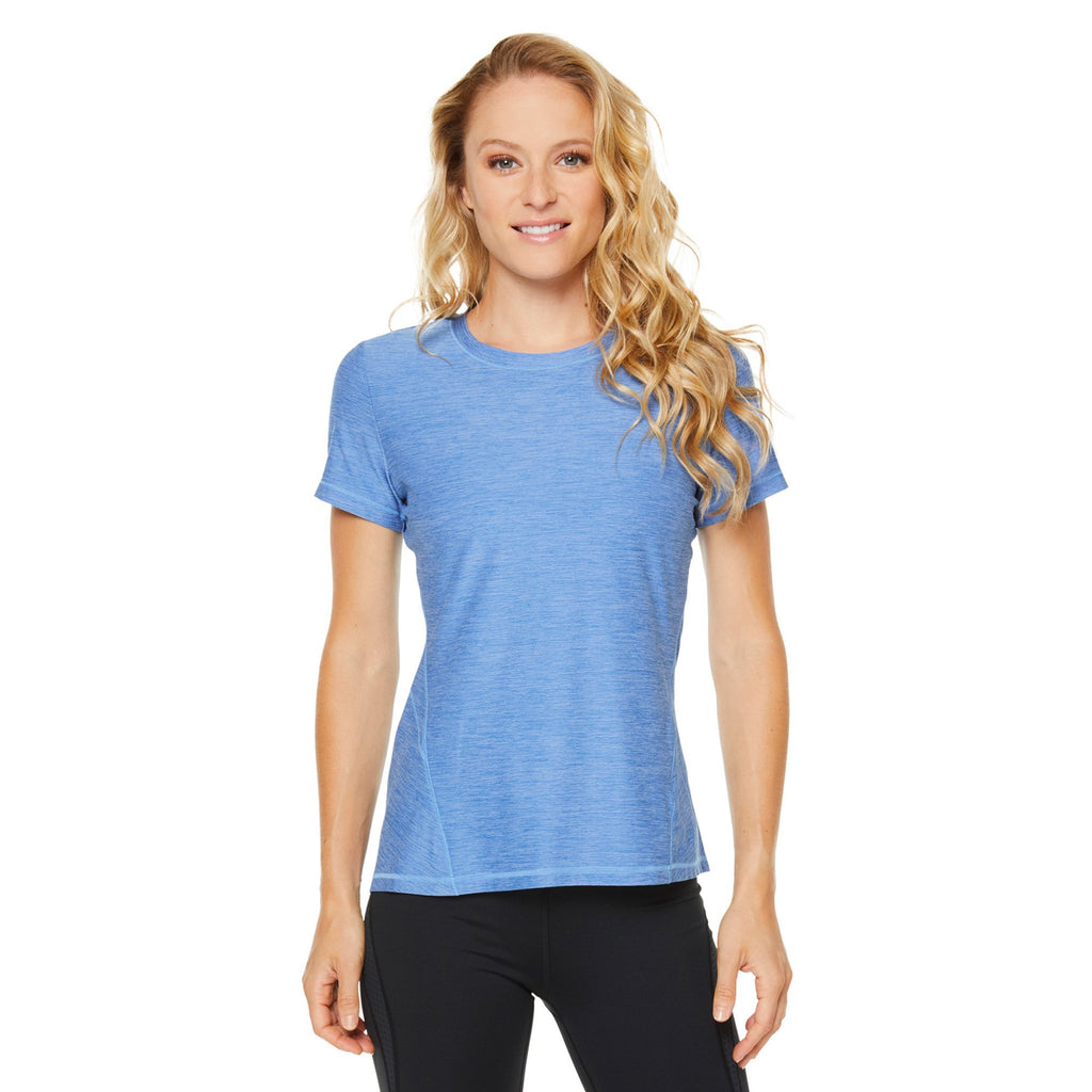 Shape Classic Short Sleeved Round Neck Tee - Blue - SKULPT Dublin