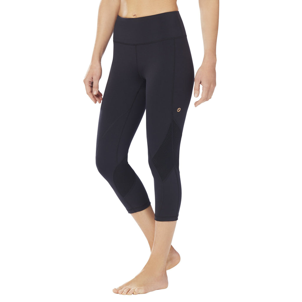 Shape Capri with zip pocket - Black - SKULPT Dublin