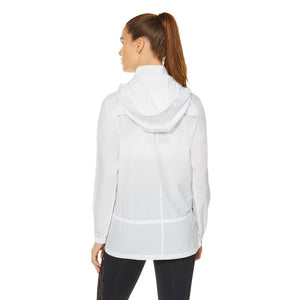 Shape Windbreaker Jacket - White