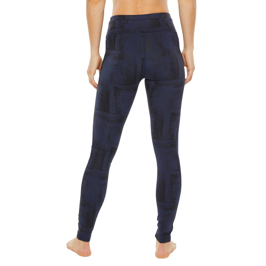 Shape Two Tone Leggings with zip pocket - Black & Navy - SKULPT Dublin