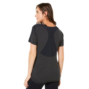 Shape Short Sleeved Tee - Grey - SKULPT Dublin