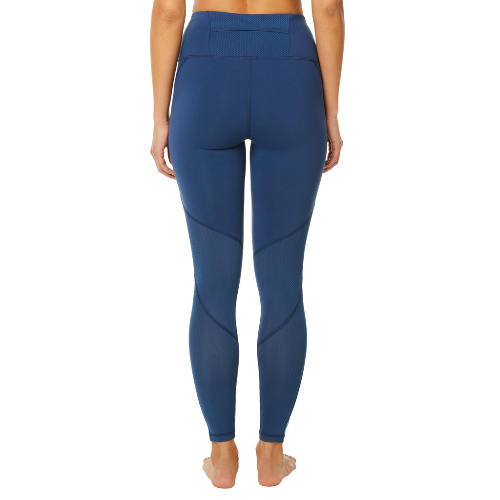 Shape Long Leggings - Blue Reflective at rear - SKULPT Dublin