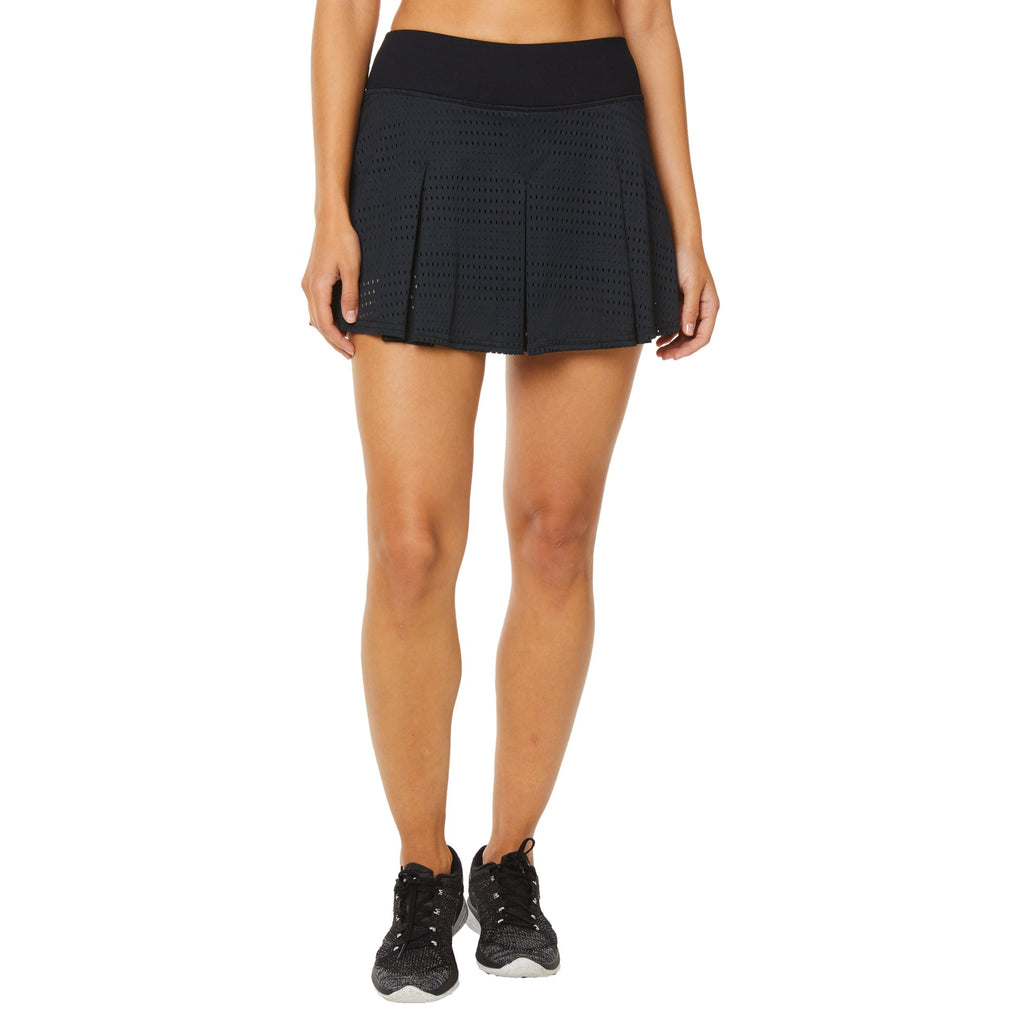 Shape Mesh Tennis Skirt - Black - SKULPT Dublin