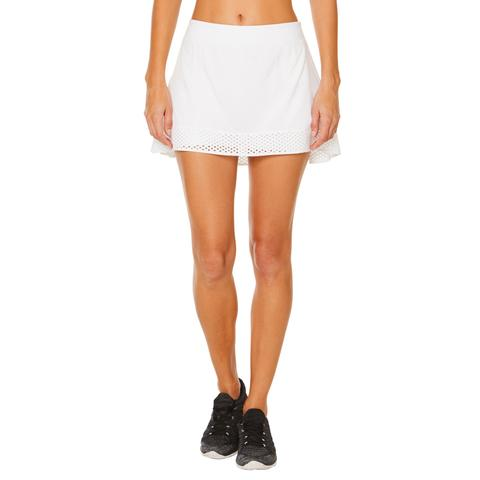 Shape Tennis Skirt - White