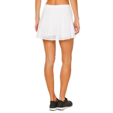 Shape Tennis Skirt - White - SKULPT Dublin