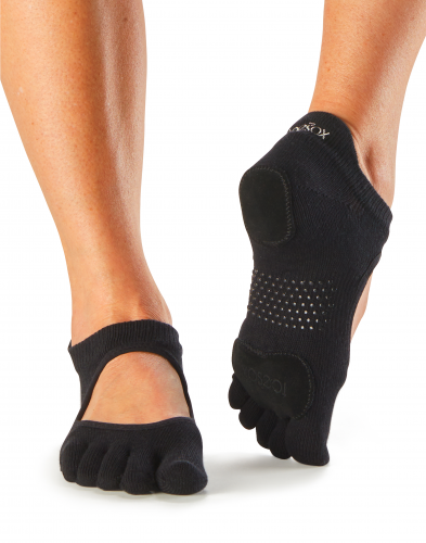 ToeSox Socks Dance Socks - 5 Toe Grip Mary Jane Style - SKULPT Dublin