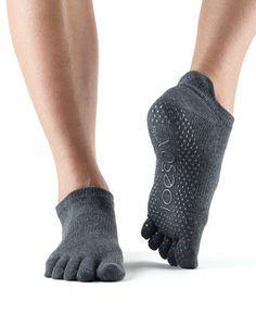 Yoga Socks Pilates Socks 5 Toe Grip - Various Colours